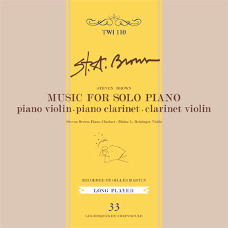 Music For Solo Piano [TWI 110 CD]